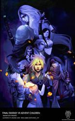 final fantasy VII by lorlandchain