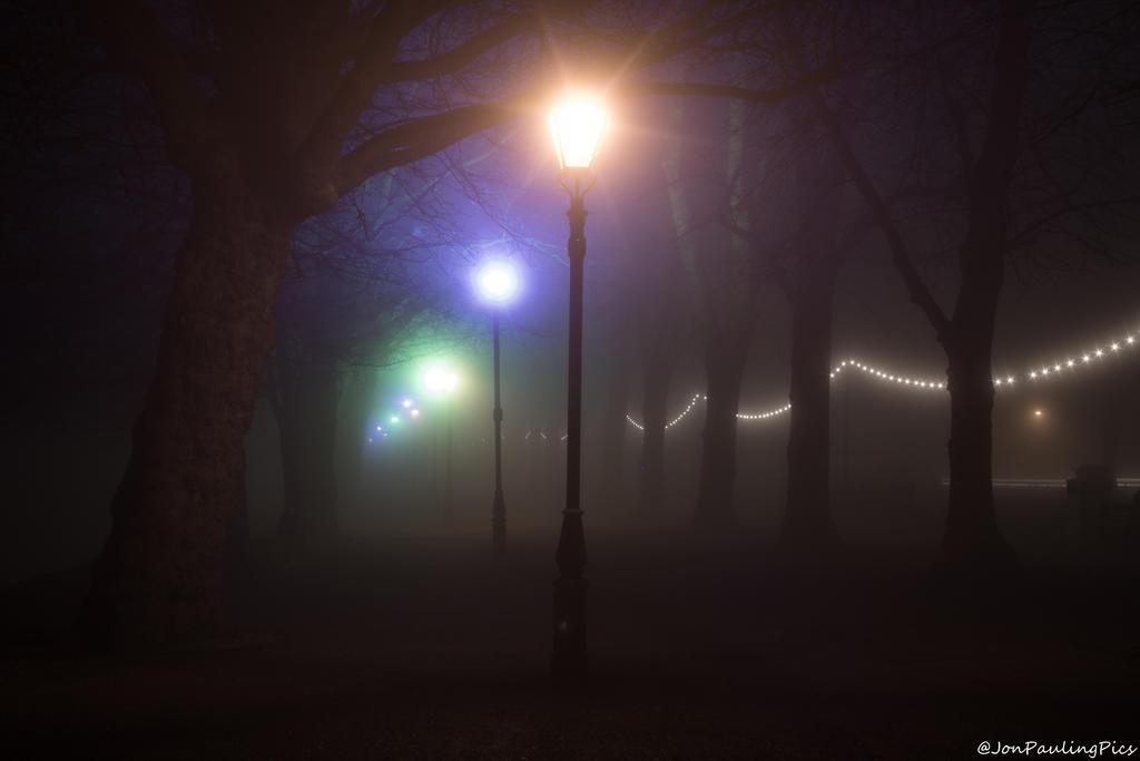 Foggy Lights by Mincingyoda