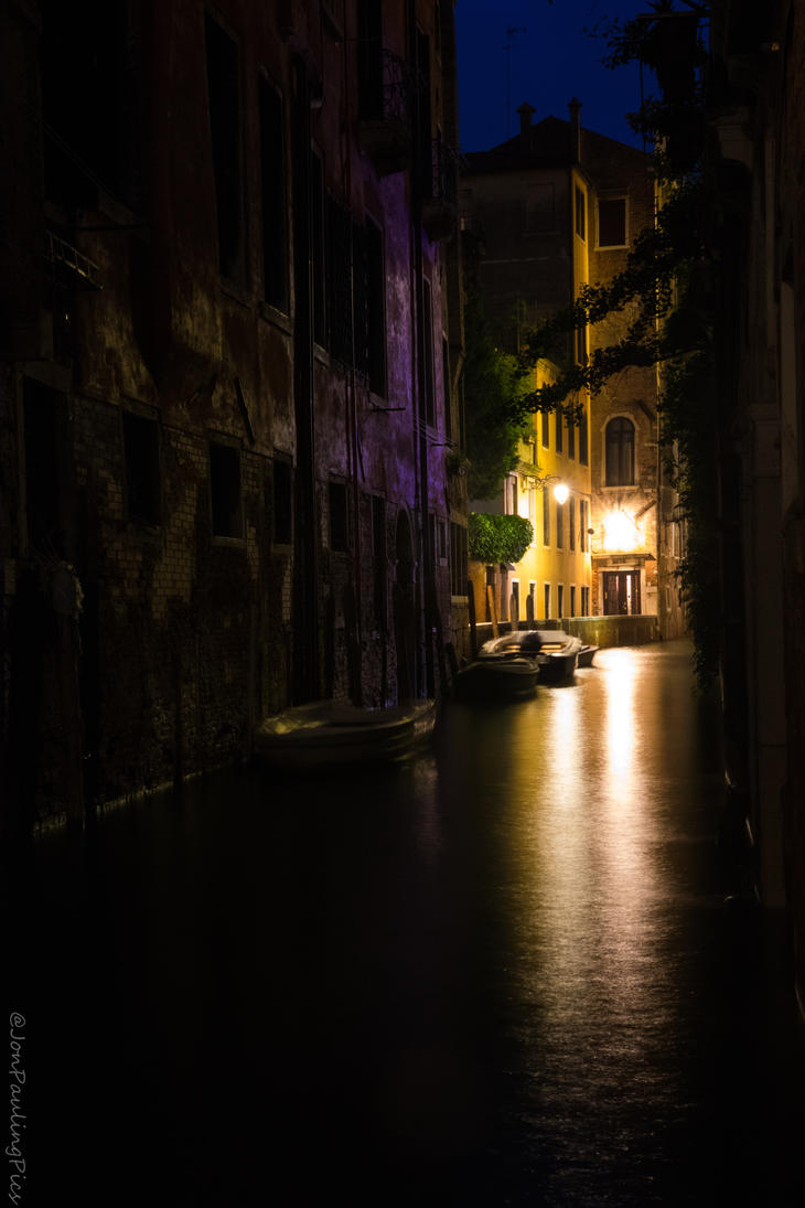 Romantic Side Streets and Waterways! by Mincingyoda