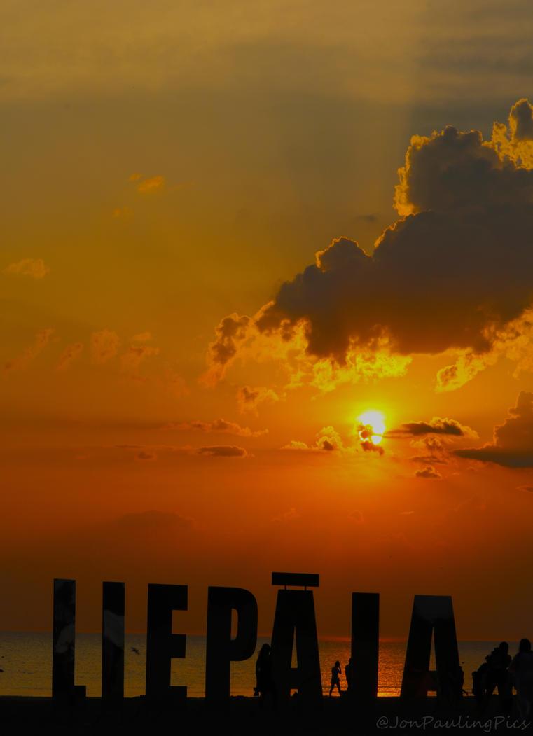 Liepaja Sundowner by Mincingyoda