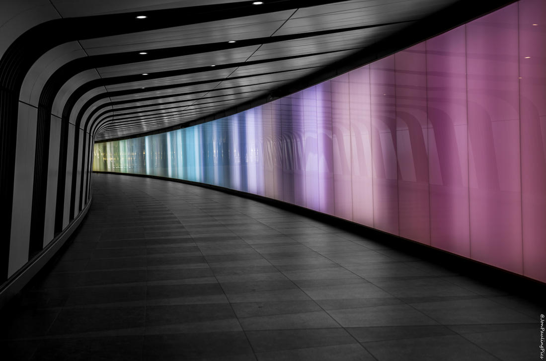 St Pancras Walkway by Mincingyoda