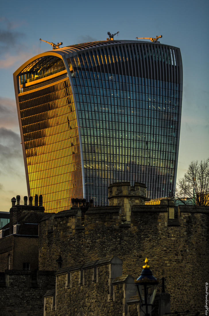 London Walkie-Talkie by Mincingyoda