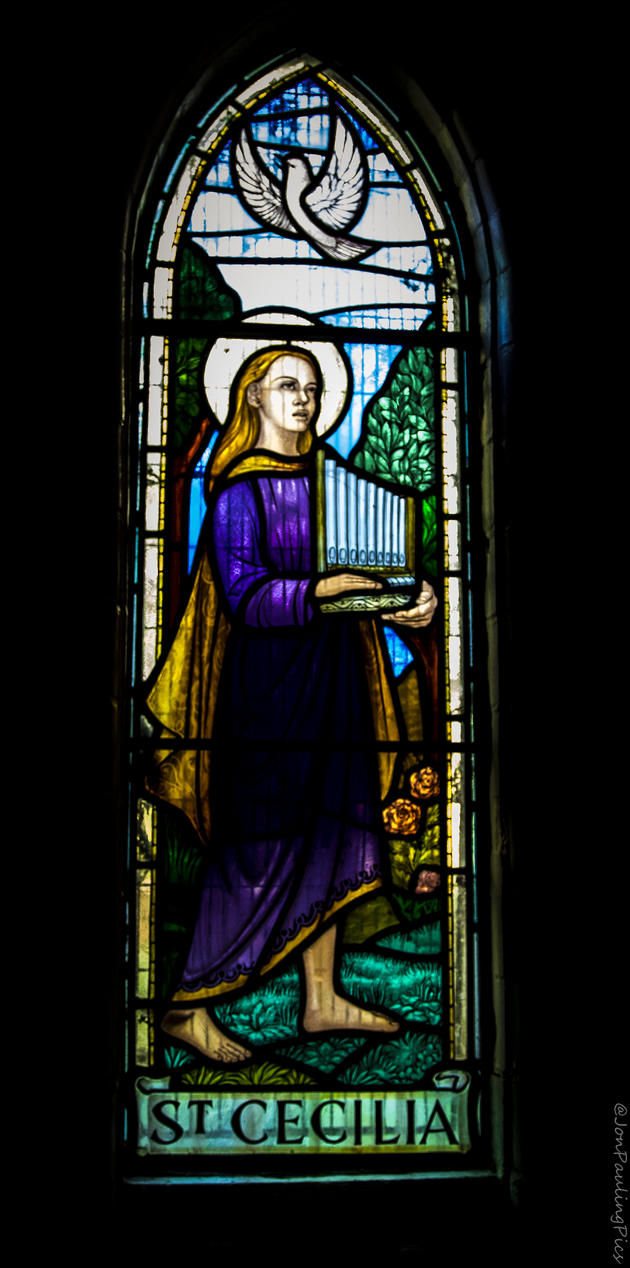 St Cecilia by Mincingyoda