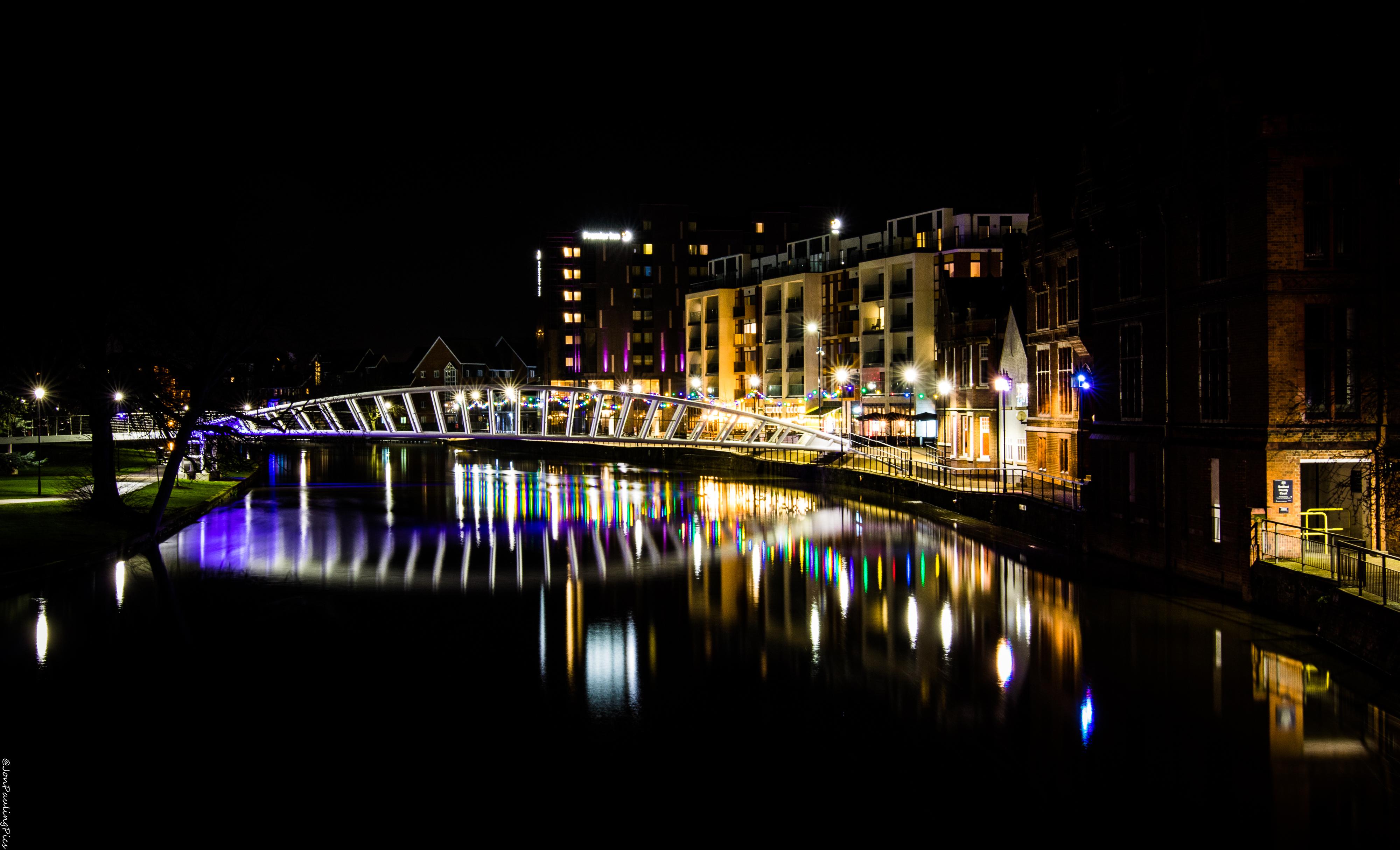 Riverside North, Festively by Mincingyoda