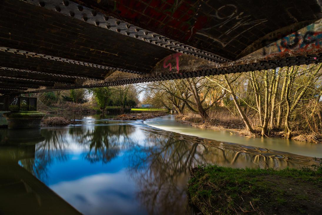 A Bridge So Near! by Mincingyoda