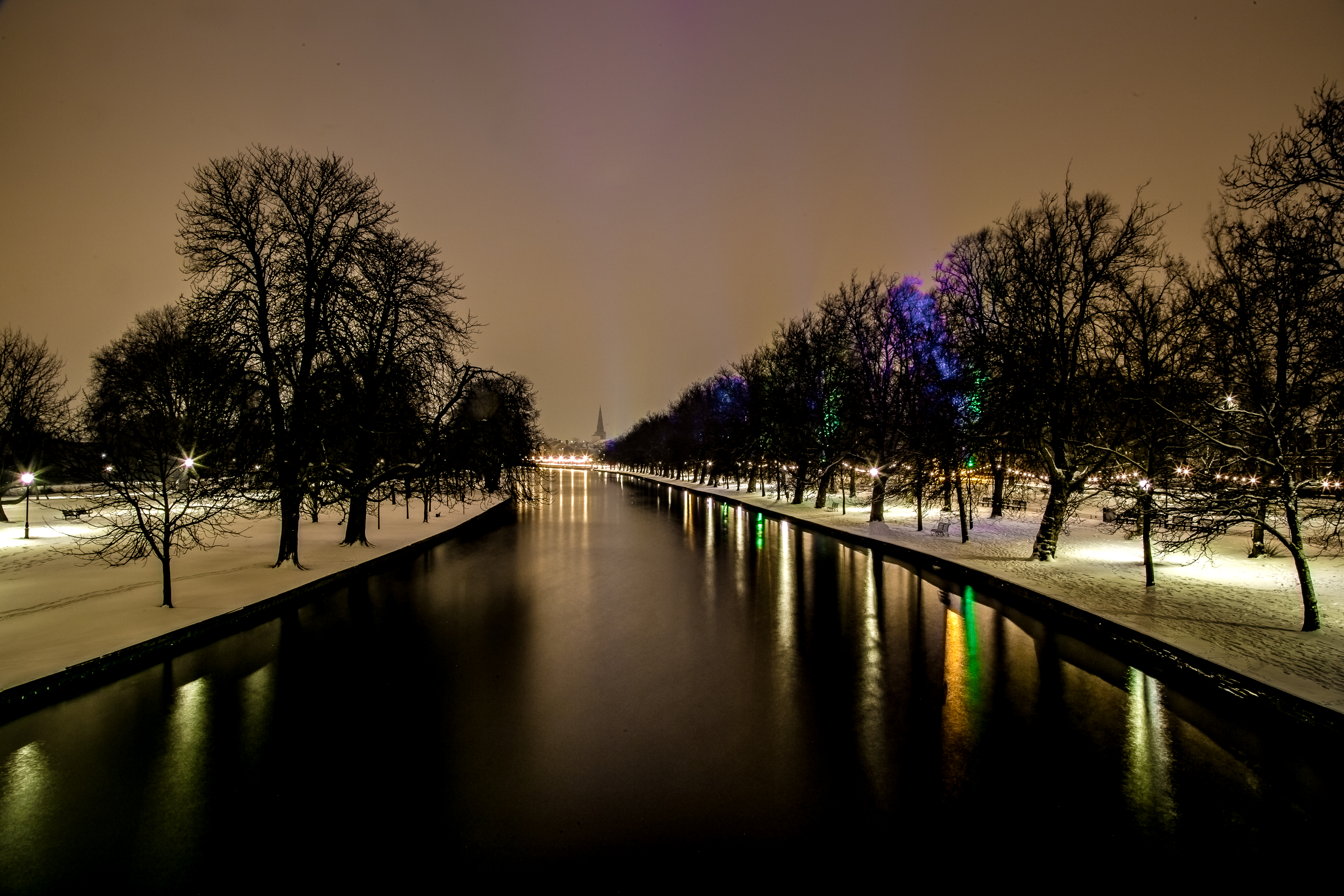 Bedford Snow Scene by Mincingyoda