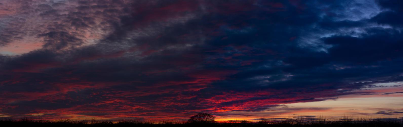 Stevington Sunset! by Mincingyoda