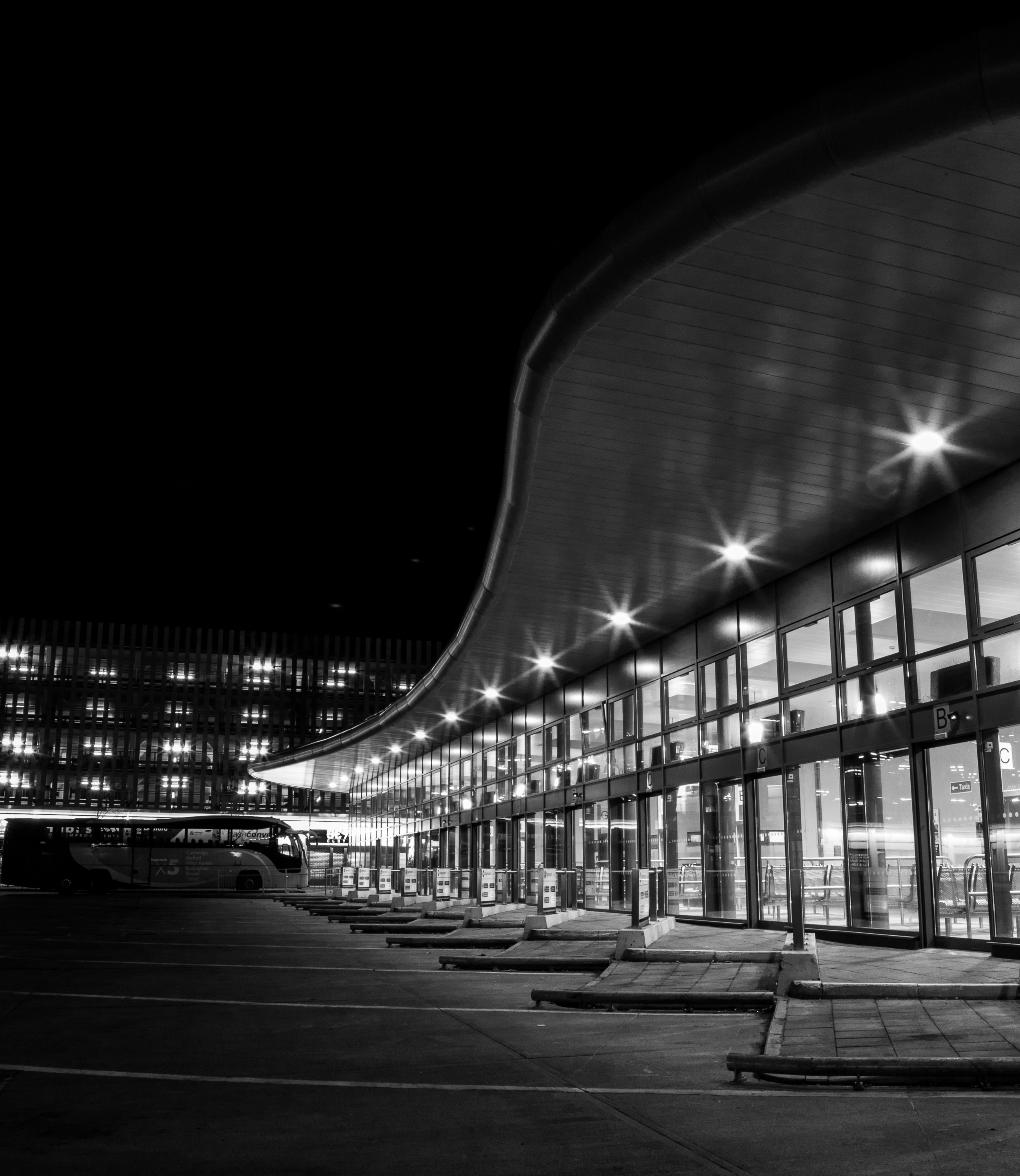 Bedford Bus Station by Mincingyoda