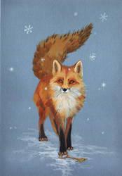 Fox by BoggartOwl