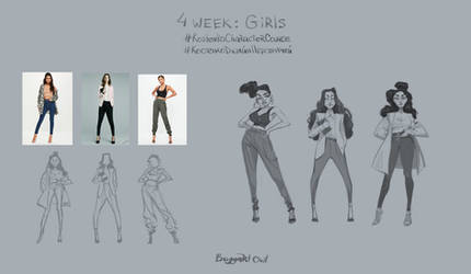 4 week: Girls