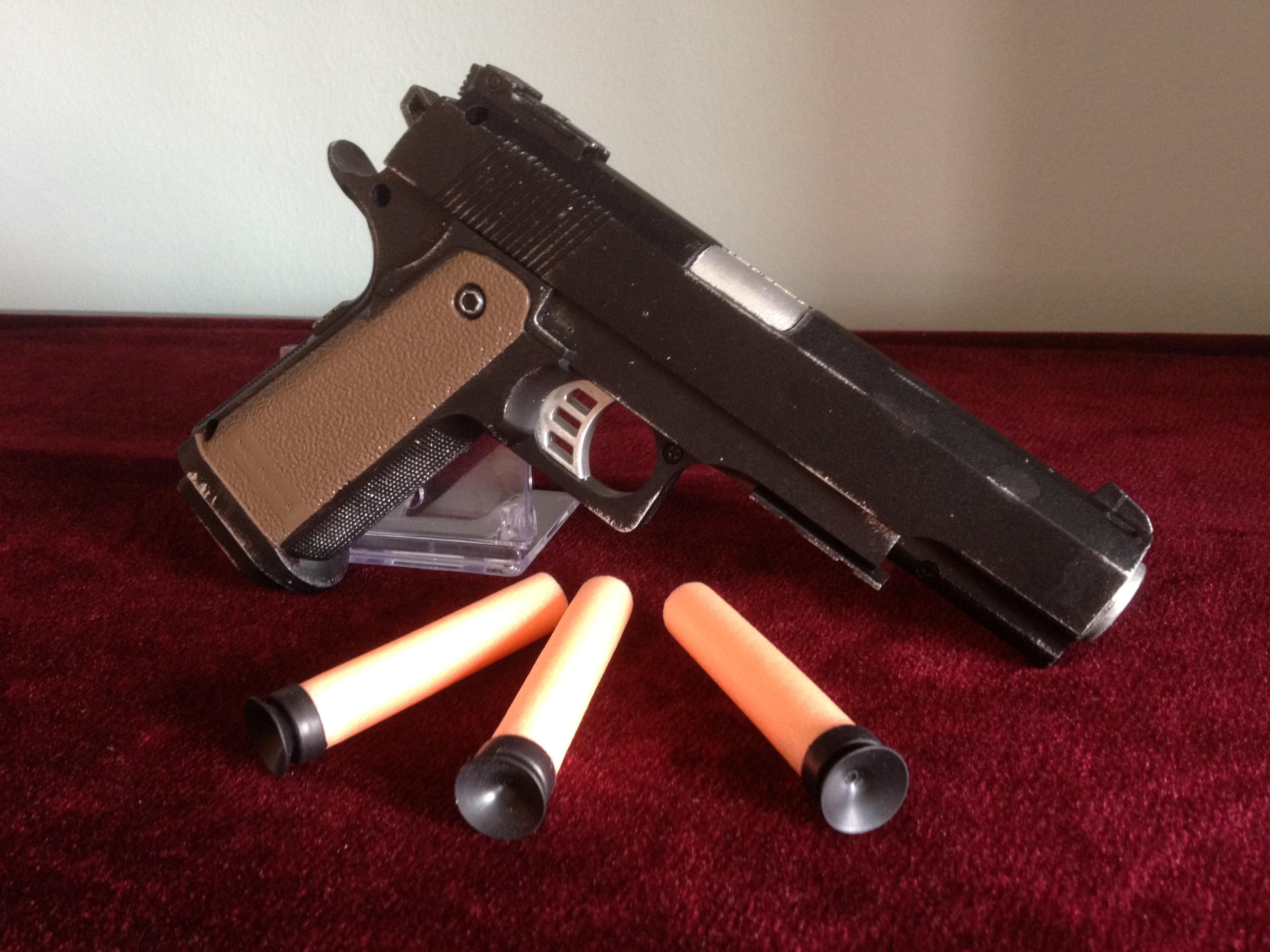 Nerf 1911 Pistol by Gavinlimkj