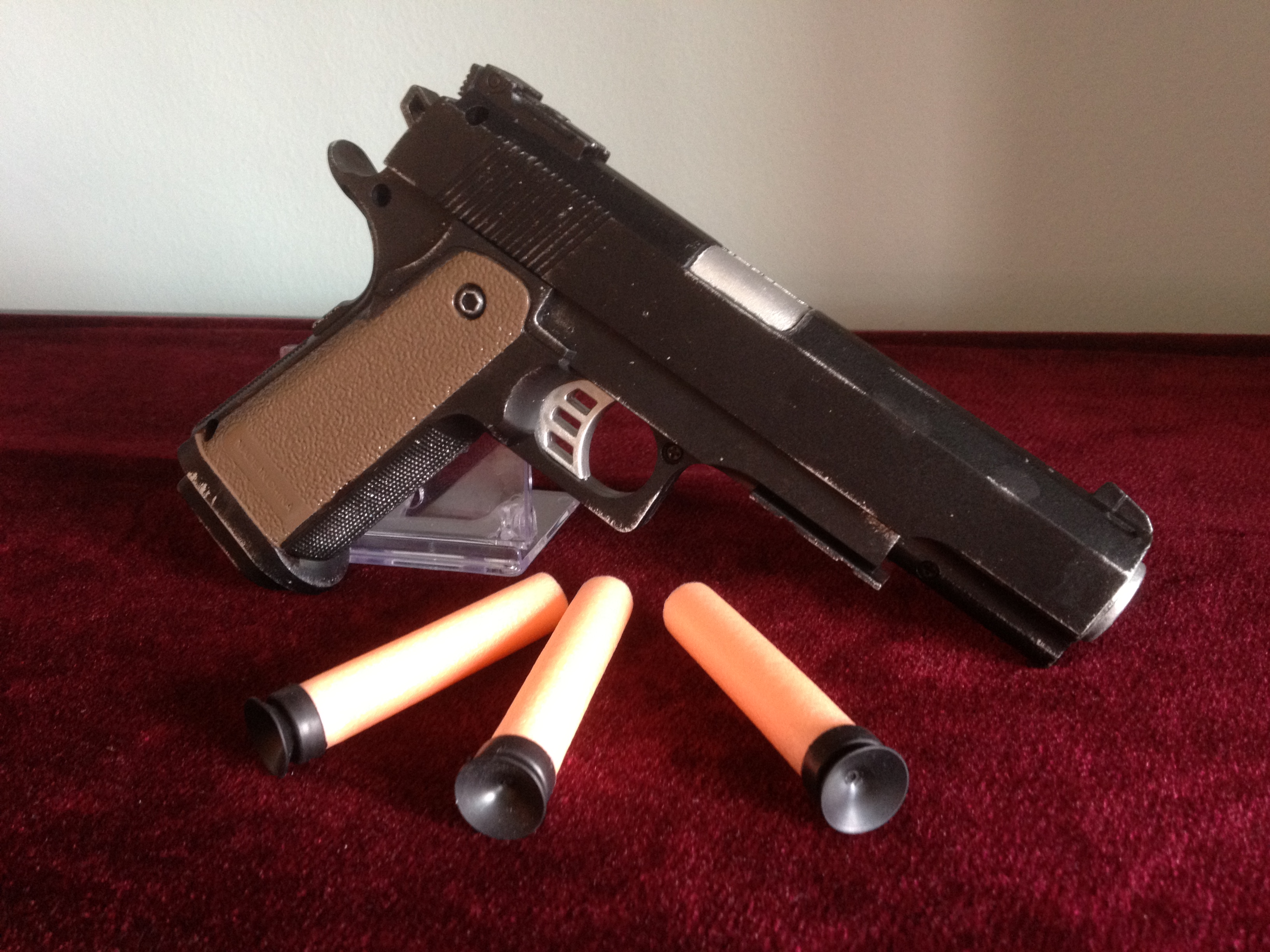 Nerf 1911 Pistol by Gavinlimkj Nerf 1911 Pistol by Gavinlimkj