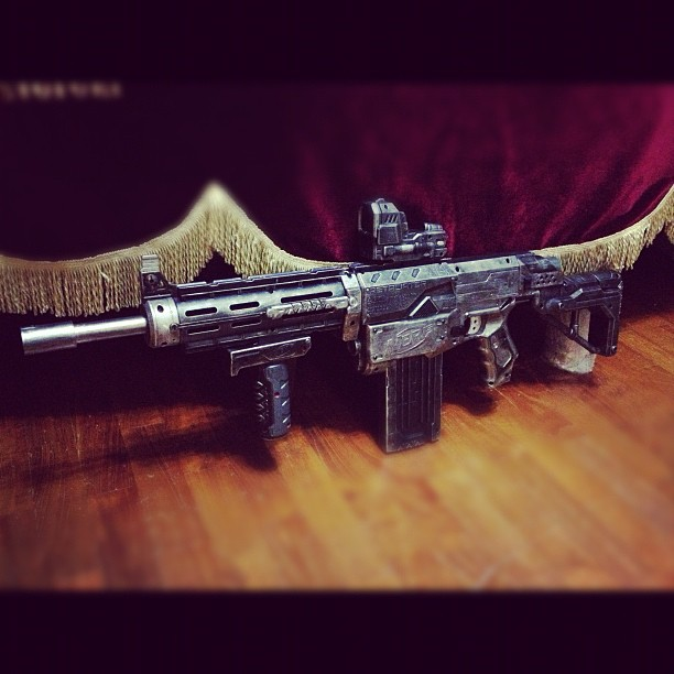 Nerf Retaliator Rifle Custom By Gavinlimkj On DeviantArt