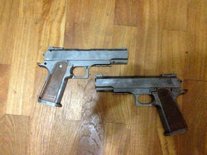 Fallout .45 Pistol (WIP #1)