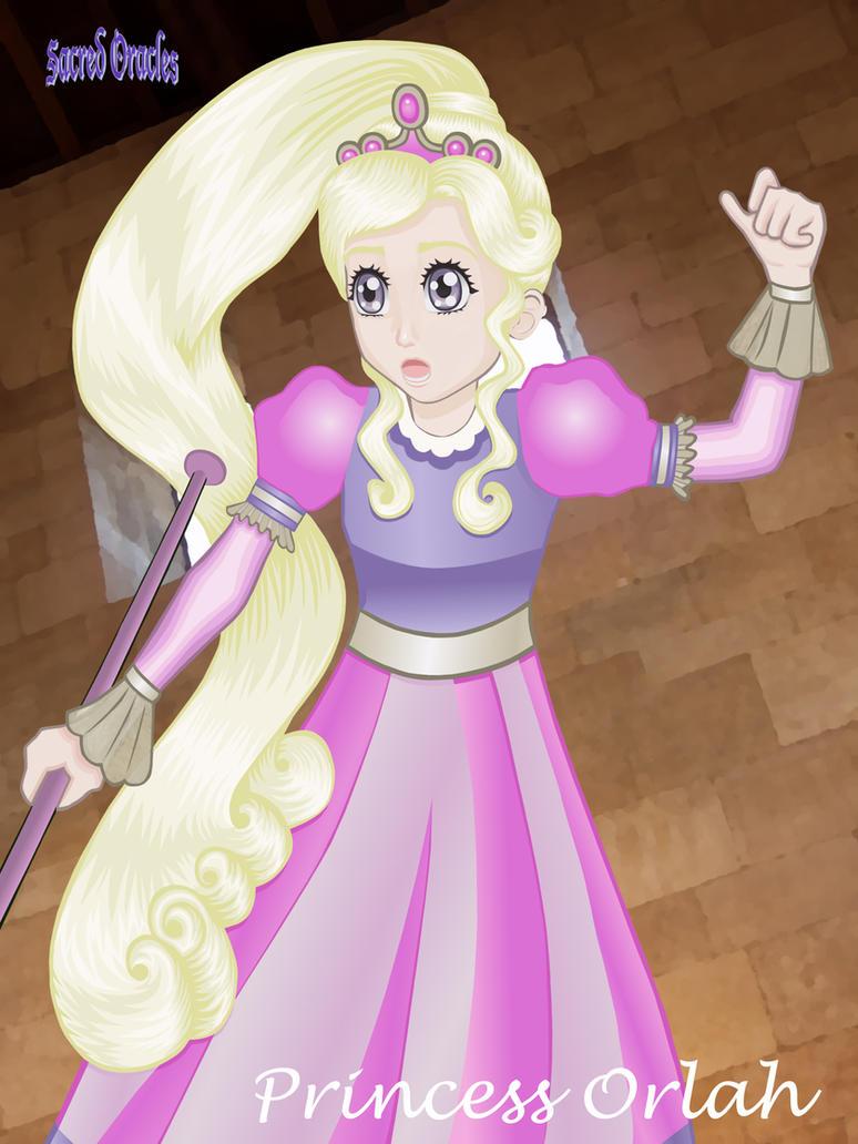 Princess Orlah (Higher Resolution) by Ezmyreld