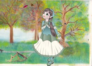 Juniper in Forest 1