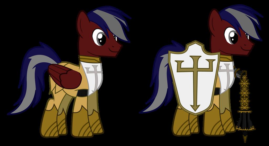 Silver Crusader by shadowmjl