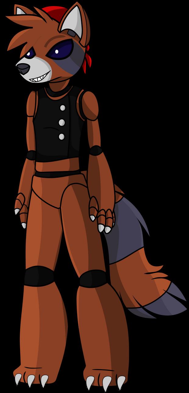 Rocky Raccoon FNAF by shadowmjl