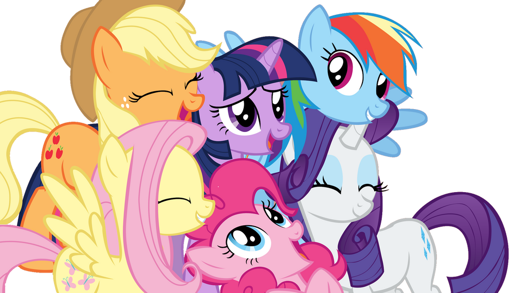 My Little Pony Clip Art Friends :) by MaguiPinkie