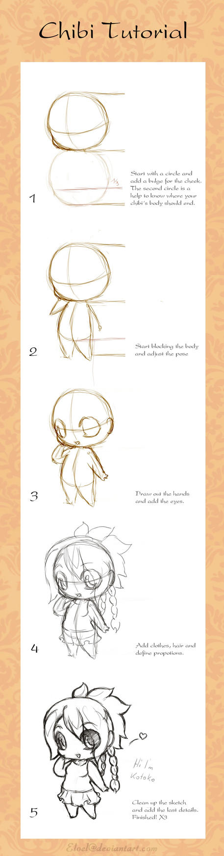 Chibi Tutorial by eloel