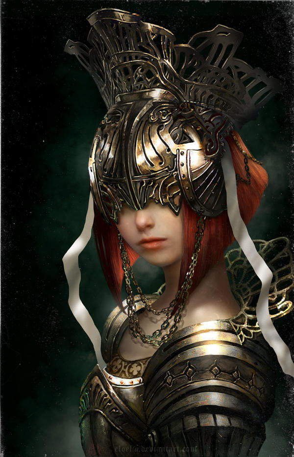 The Queens Armor by eloel