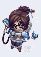 Mei Chibi Overwatch by eloel