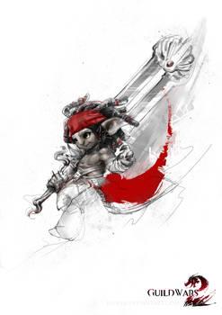 Guildwars2 Asura Warrior