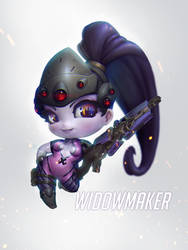 Widowmaker Chibi