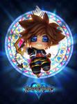 Sora Chibi - Kingdom Hearts