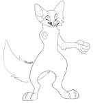 Fennec fox lines
