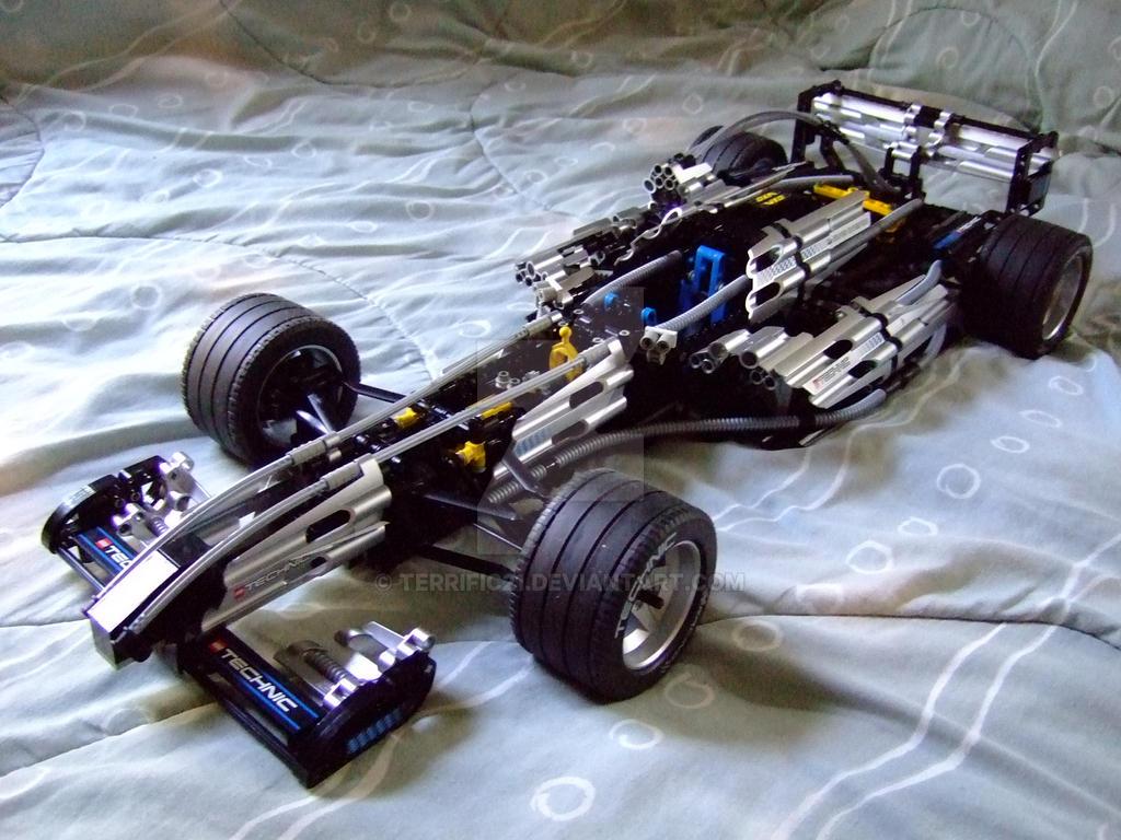 lego technic formula one car by terrific21 on deviantart. Black Bedroom Furniture Sets. Home Design Ideas