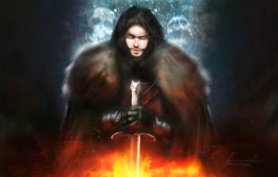 Azor Ahai, Jon Snow