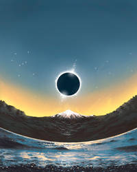 Afiche Eclipse Solar 2020