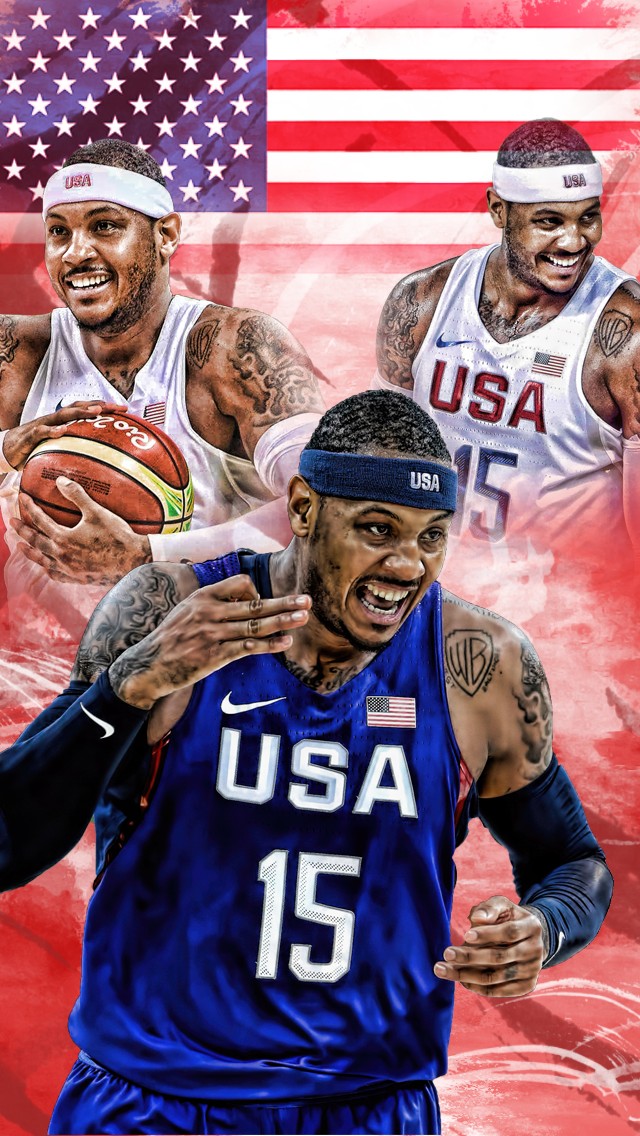 Carmelo anthony team usa iphone 5 background by basketfreak13 on carmelo anthony team usa iphone 5 background by basketfreak13 voltagebd Images