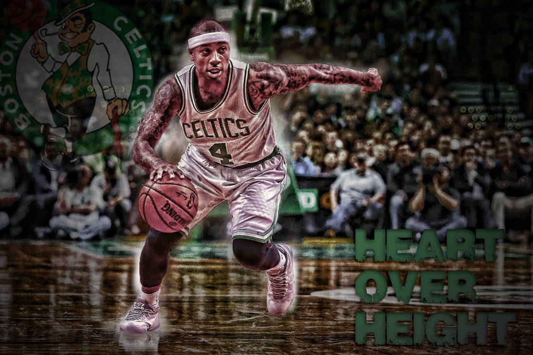Isaiah Thomas- Heart Over Height Wallpaper by Basketfreak13 ...