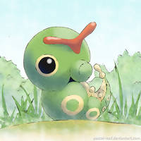 Caterpie by Pastel-Leaf