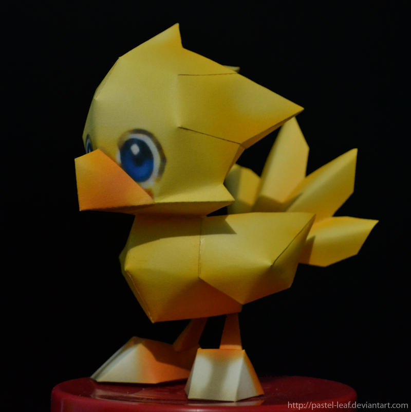 Chocobo Papercraft