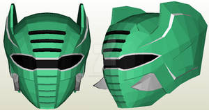 Jungle Fury Elephant Spirit Ranger Helmet Pepakura