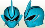 Shark Spirit Ranger Helmet Papercraft