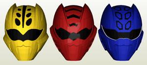 Juuken Sentai Gekiranger Helmet Papercraft