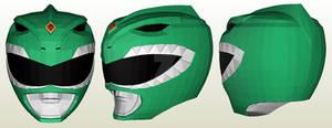 Dragon Ranger Helmet Papercraft