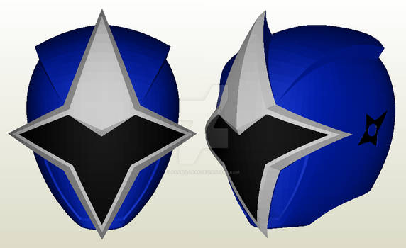 AoNinger Helmet Papercraft