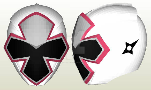 ShiroNinger Helmet Papercraft