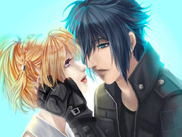 Final Fantasy XV [Until That Day] by Allen-Jiyu