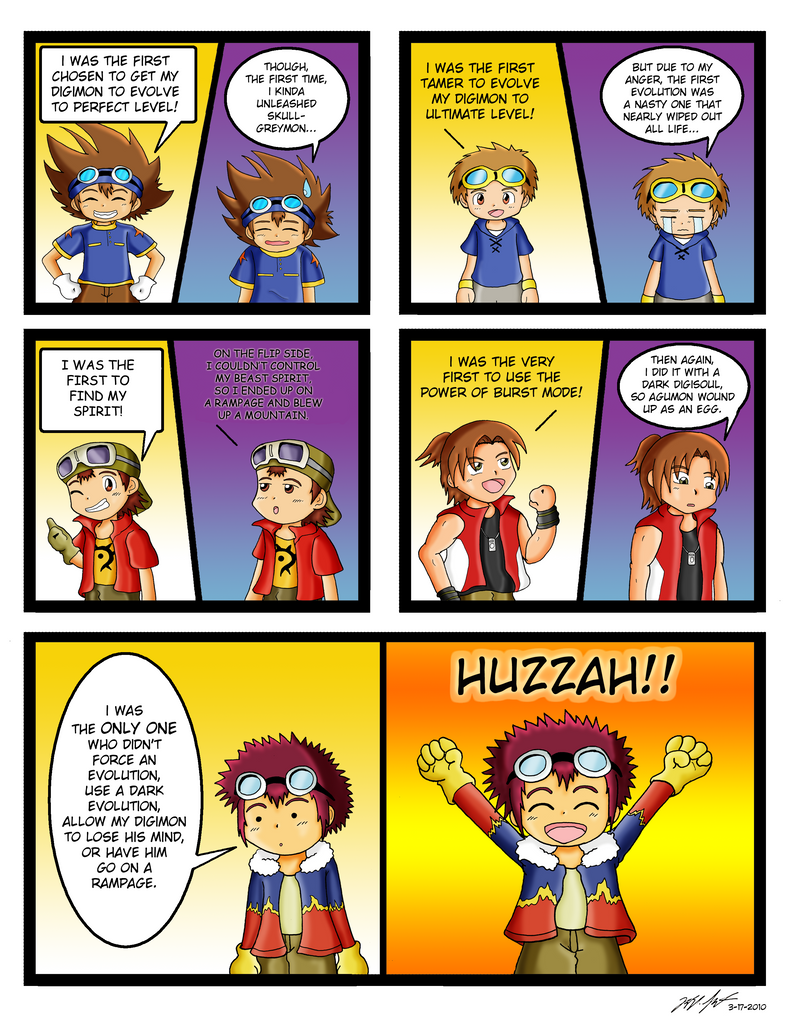Digimon - Daisuke's Special by mdchan