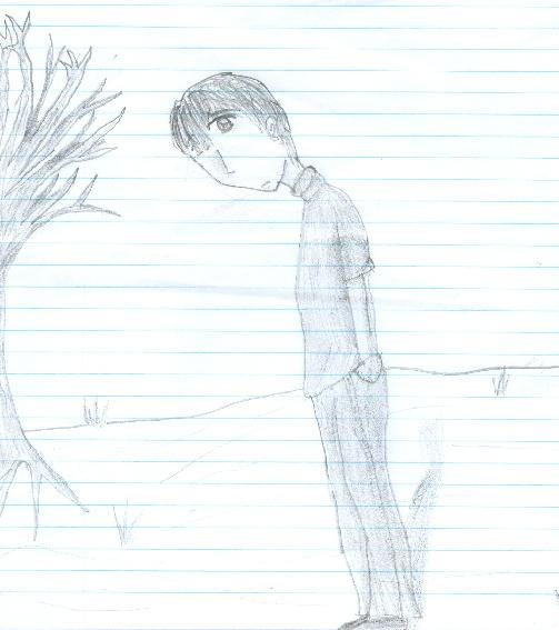 a guy i drew in 2nd period by verycheesey
