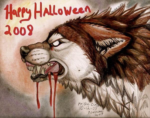 happy halloween everyone by natsumewolf