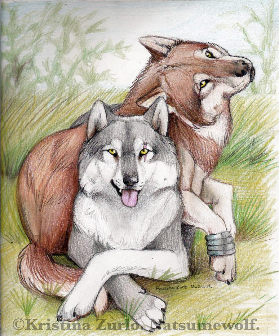 Harper and Toboe by NatsumeWolf