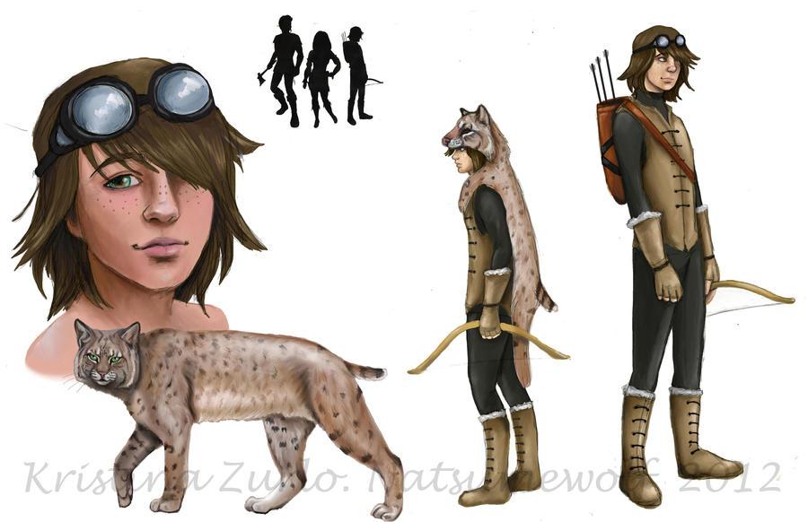 Bobcat SkinWalker WIP by NatsumeWolf