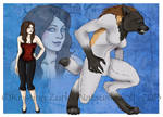 Werewolf Girl Commission